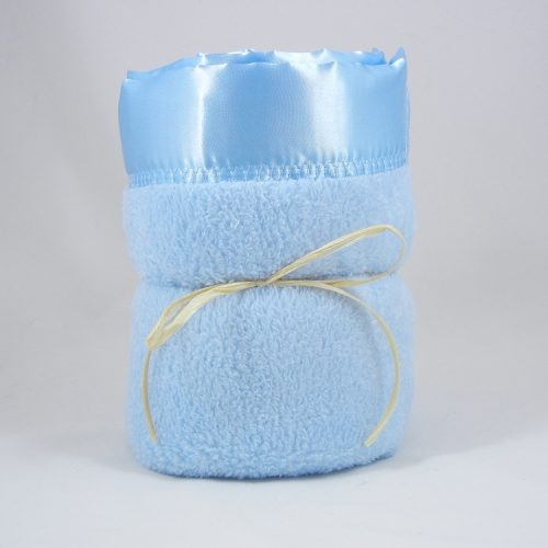 Minky Plush Large Blanket Blue