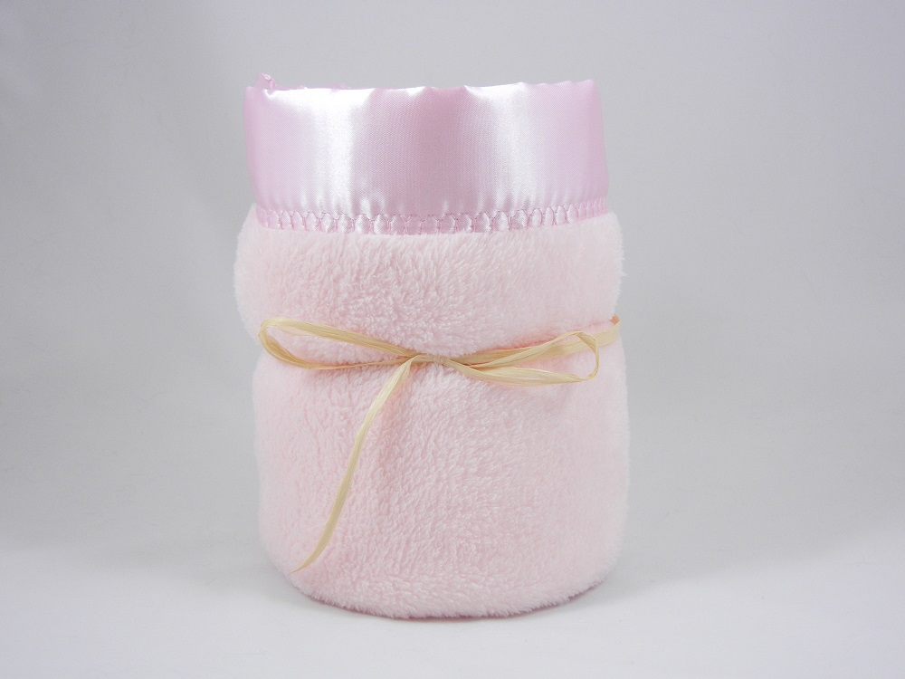 Minky Plush Large Blanket Pink