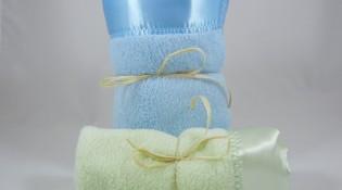 Minky Plush Large Mini Blanket Combo