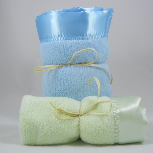Minky Plush Large Mini Blanket Combo
