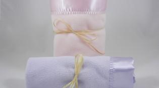 Polar Fleece Large Mini Blanket Combo