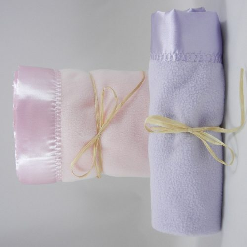 Polar Fleece Large Mini Blanket Combo