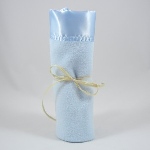Polar Fleece Mini Blanket Blue