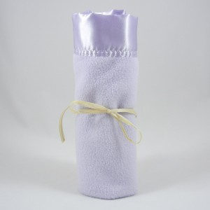Polar Fleece Mini Blanket Purple
